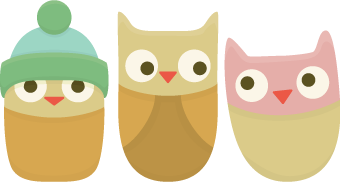 Cute Owls SVG Free
