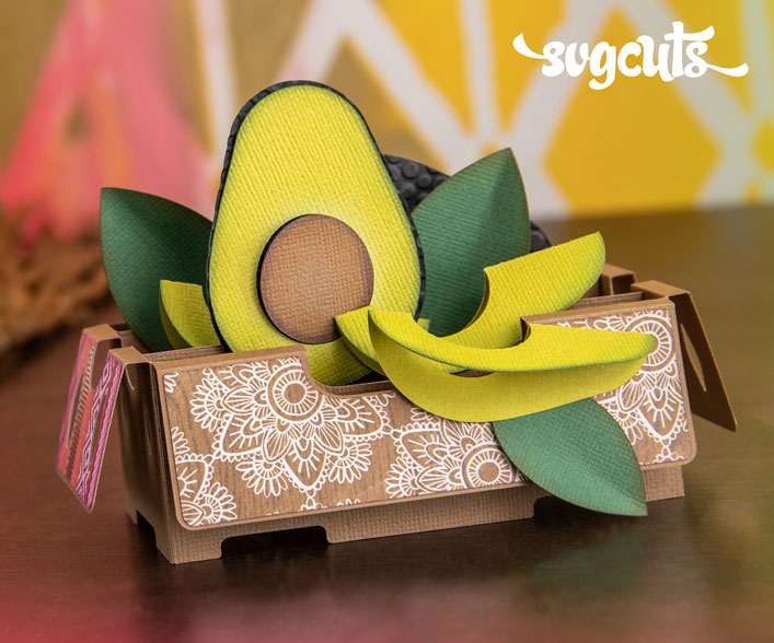 Avocado Crate Box Card