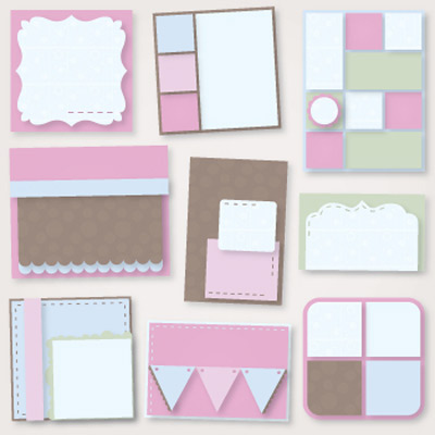Sweet Designer Cards and Envelopes SVG Collection
