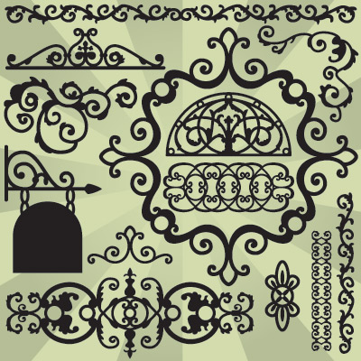 French Quarter Ironwork SVG Collection