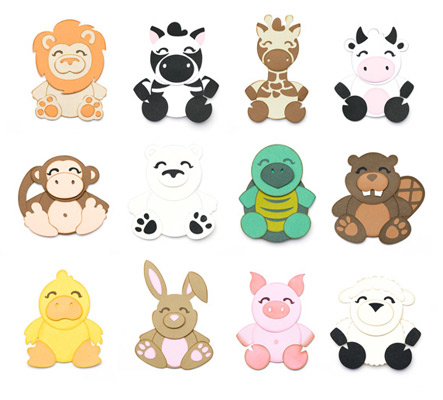 Cuddly Animals SVG Collection