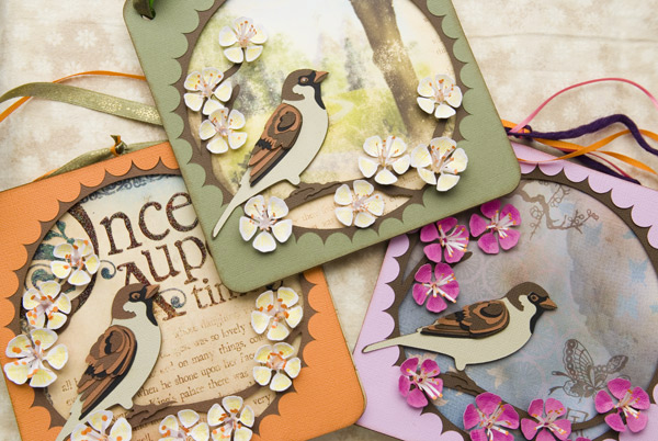 Enchanted Sparrow Paperscape SVG Kit