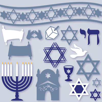 Jewish Elements SVG Collection