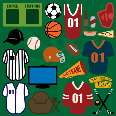 Sports Lovers SVG Collection