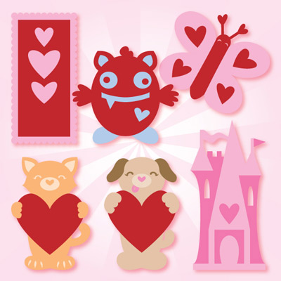 Whiz Kid Valentine SVG Kit
