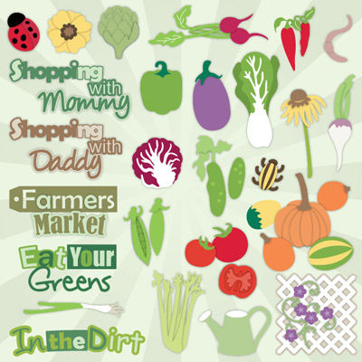 Veggie Garden SVG Collection Part 2