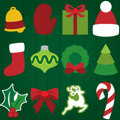 Shaped Christmas Cards SVG Kit
